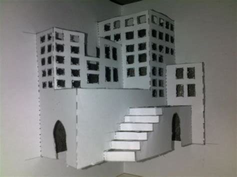 paper craft city crafts 3d paper city by poohinme on deviantart