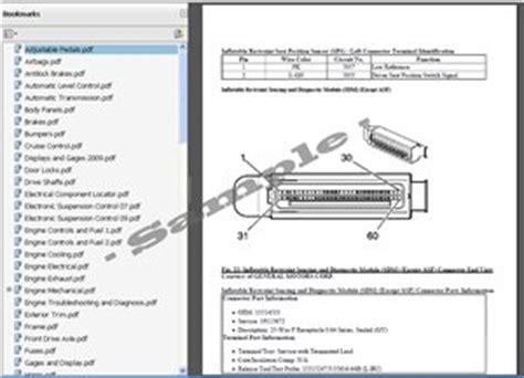 car repair manuals online pdf 2008 cadillac srx spare parts catalogs cadillac srx service repair manual 2004 2008 automotive service repair manual