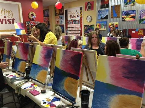 paint with a twist in delaware painting with a twist in suburban plaza newark de