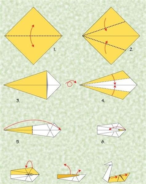 Origami Goose Easy Make Origami For