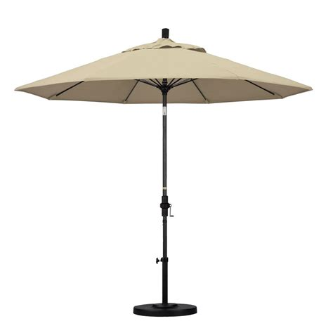 fiberglass patio umbrella california umbrella 9 ft fiberglass push tilt patio