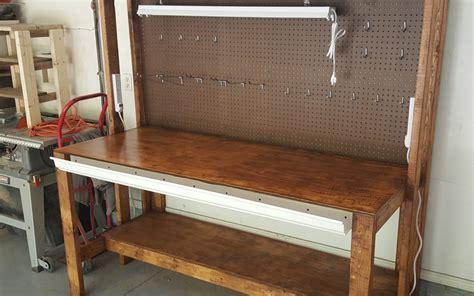 garage bench designs diy garage workbench plans pratt family