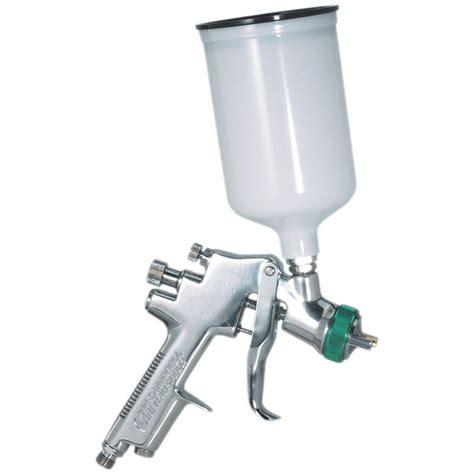 home depot air compressor paint sprayer cbell hausfeld hvlp gravity feed spray gun shop your