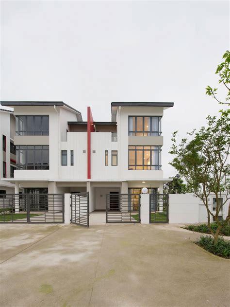 architect designed house plans semi detached house by landmak architecture
