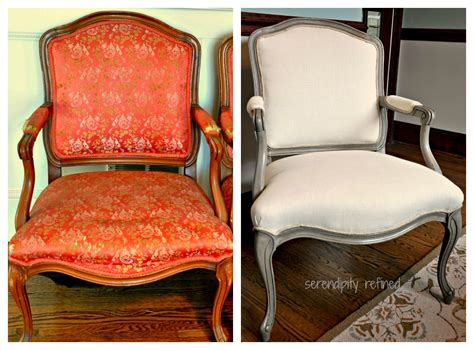 chalk paint upholstery serendipity refined style side chair makeover