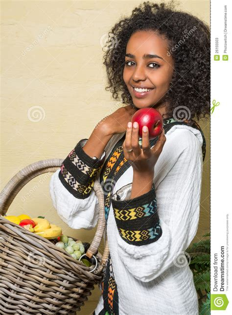 Sourire de femme éthiopienne