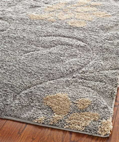 grey and beige area rugs safavieh florida shag sg464 grey beige area rug