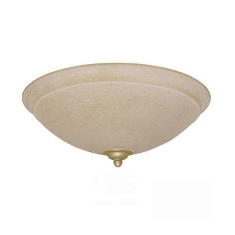 ceiling fan light kit home depot illumine zephyr 3 light antique brass ceiling fan light