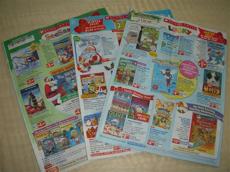 scholastic picture books scholastic book orders 80 s and 90 s