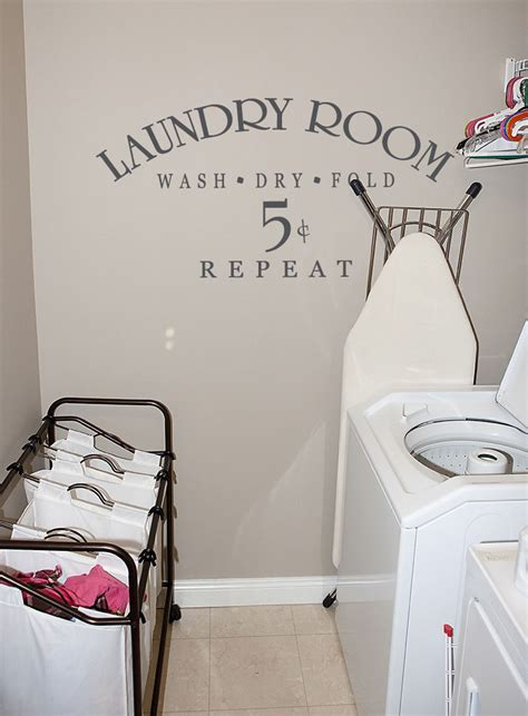 laundry room wall stickers laundry room 5 cents wall decals trading phrases