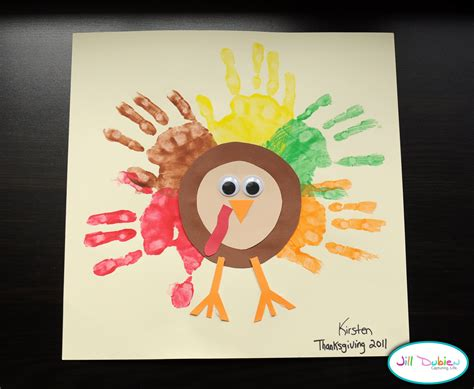thanksgiving turkey craft for a simple craft thanksgiving turkey the simple