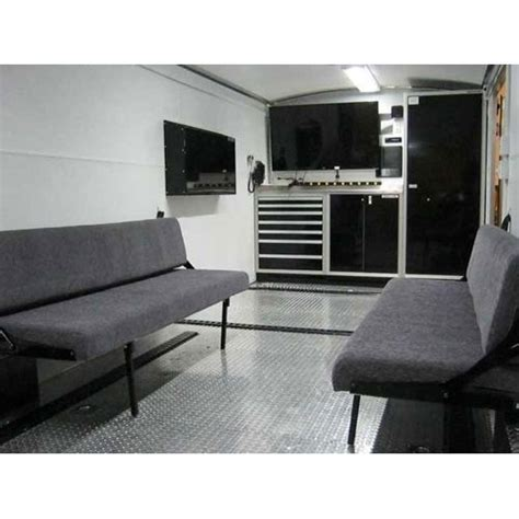 folding rv bunk beds fold trailer cer beds moduline cabinets