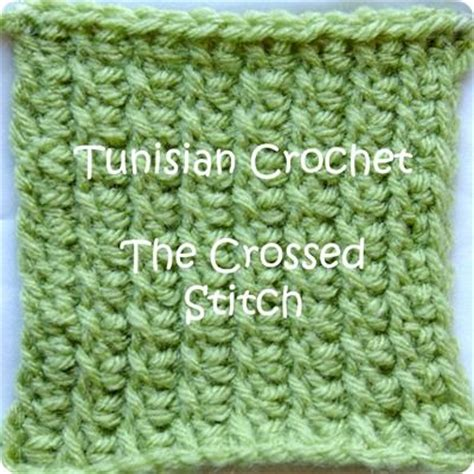 is crochet easier than knitting crossed tunisian crochet i really like this because it