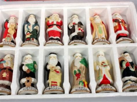 santas of the world figurines santas from around the world collection