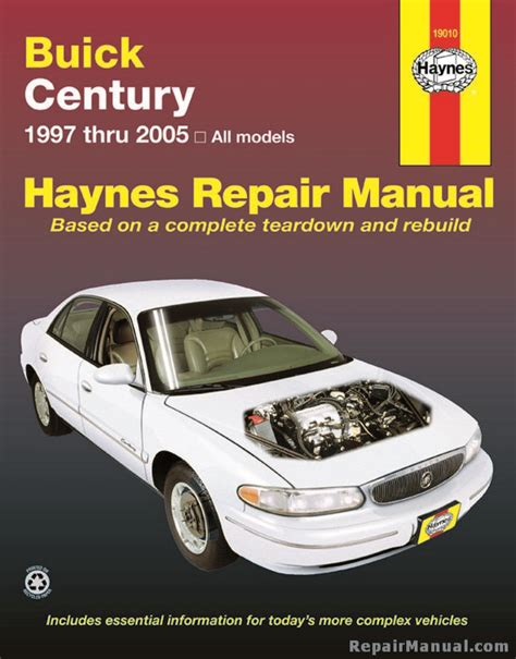 download car manuals 2001 buick century free book repair manuals haynes buick century 1997 2005 car repair manual