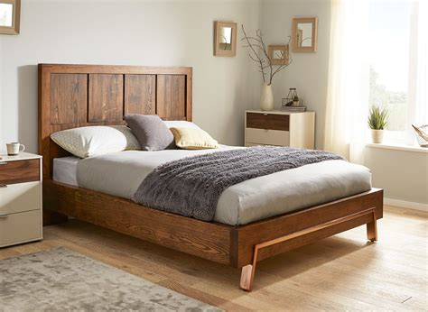 dreams bed frames uk grant wood and copper bed frame dreams