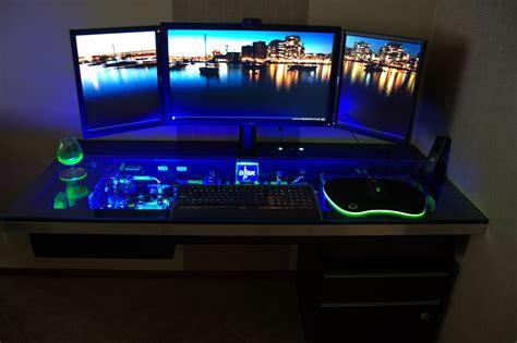 awesome computer desks fresh best pc gaming desk setup 12973