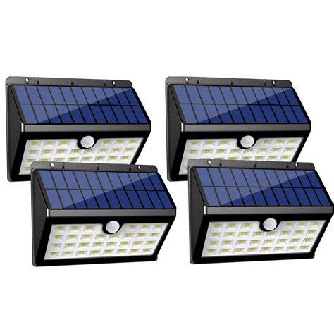 led solar outdoor lights innogear solar lights 30 led wall light outdoor security