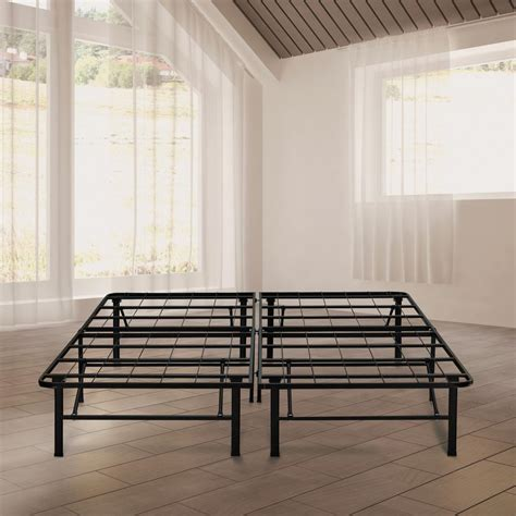 metal bed frame king rest rite 14 in california king metal platform bed frame