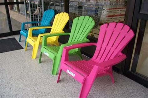 Colored Plastic Adirondack Chairs by Plastic Adirondack Chairs Lowes Colour May Vary