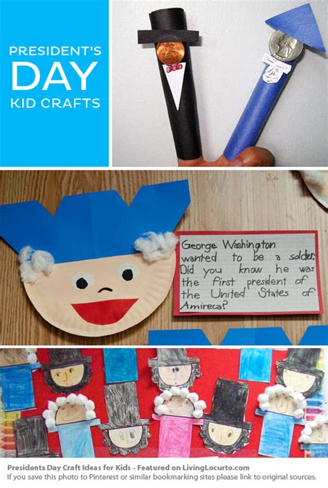 presidents day crafts for president s day kid craft ideas