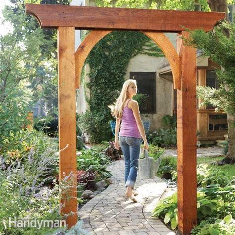 Garden Arch Materials Build A Garden Arch The Family Handyman
