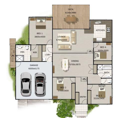 4 bedroom house designs australia split level 4 bedroom australian house design new homes