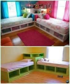 corner beds with storage best 25 corner bunk beds ideas on bunk rooms