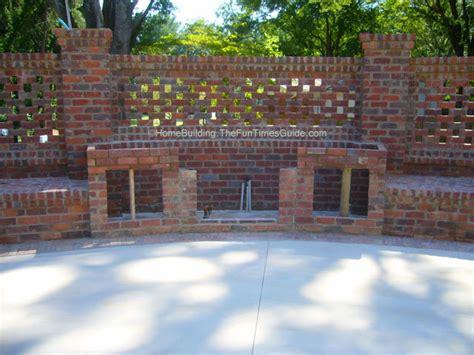 brick walls for gardens brick laminate picture brick garden wall designs
