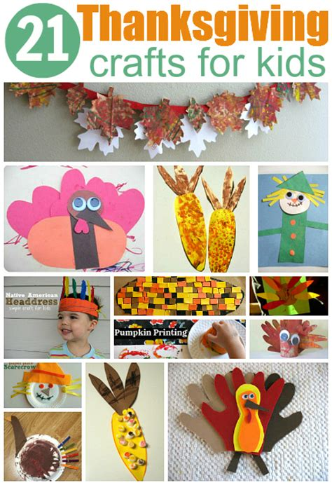 easy thanksgiving crafts 21 easy thanksgiving crafts for