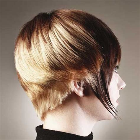 wedge haircuts for thick hair 10 beautiful short wedge haircuts short hairstyles 2016