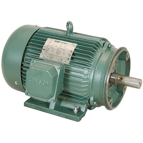 10 Hp Electric Motor by 10 Hp 1800 Rpm 230 460 Vac 3ph 215tc Leeson Motor 3
