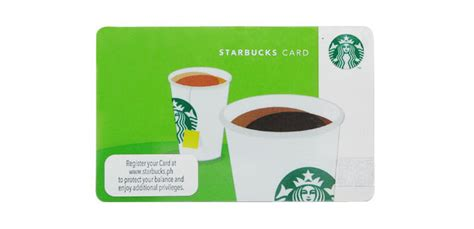how to make a starbucks card what you need to about the starbucks card cosmo ph