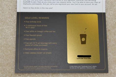 how to make a starbucks card starbucks gold is now starbucks rewards pulpconnection