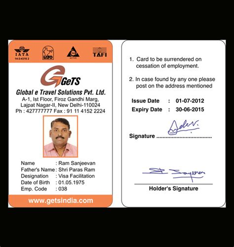 how to make company id cards identity cards design and printing services company in