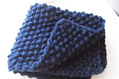 chunky knit baby blanket chunky baby blanket great for beginners by zucchini island