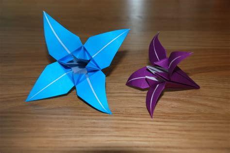 really easy origami flower simple origami flower 2016