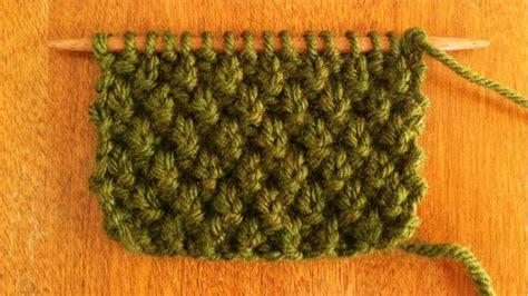 knitting moss stitch scarf moss stitch knitting stitch 31 new stitch a day
