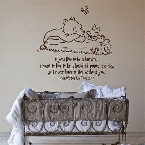 classic winnie the pooh wall decals for nursery 17 nursery wall decals and how to apply them keribrownhomes