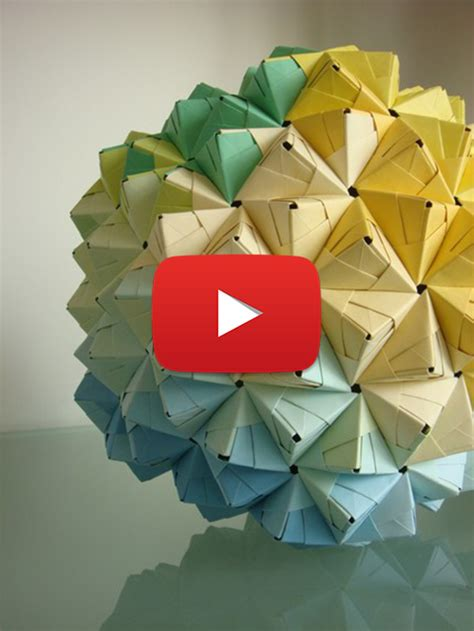 origami sphere easy cool origami 2016