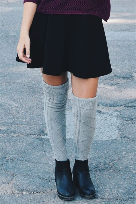 cable knit boot socks grey cable knit boot socks bootcuffsocks