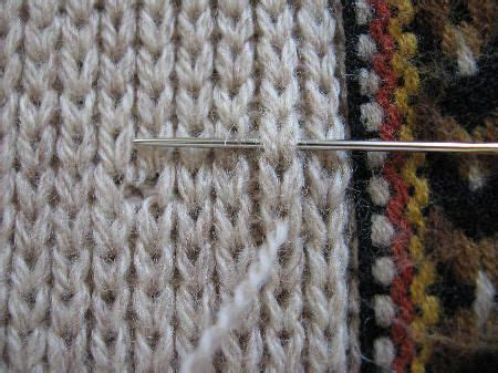 weaving seams in knitting 17 best images about knit crochet seaming weaving in