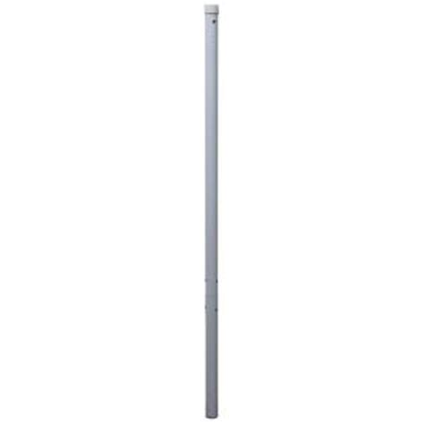 landscape lighting extension pole 49 in bar height umbrella pole extension in white bp wh49 the home depot