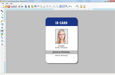 how to make company id cards id maker software creates company employees student