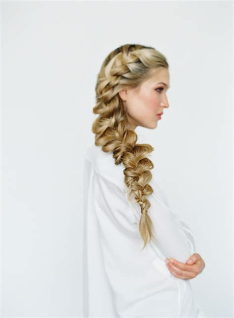 braid with in hair side braid hair tutorial wedding hairstyles for