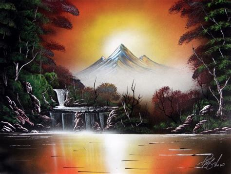 spray painting in painter has mad skills spray painting a