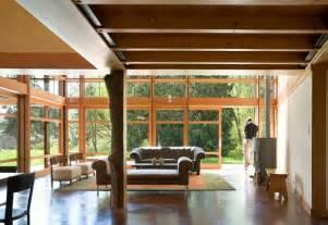 decoraci n interior de casas dise 241 o de casa de co de un piso moderna construye hogar