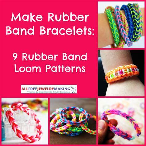 make rubber st at home make rubber band bracelets 9 rubber band loom patterns