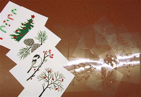 make your own cards at home home dzine craft ideas stencilled or greeting