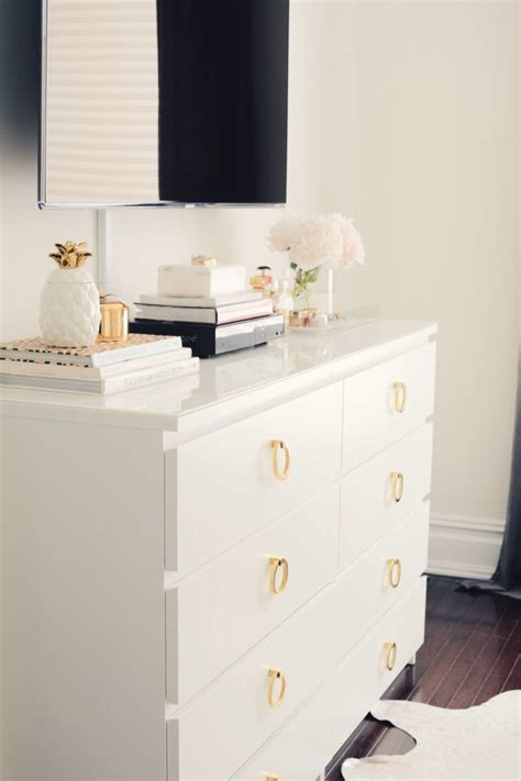 like malm dresser a easy ikea dresser hack the pink